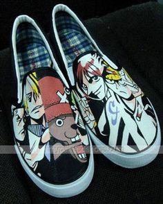 one piece Slip-on Painted  Sneakers for Men and Wome Painted Canvas Shoes 068695cde8f7