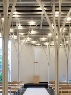 Gallery of Forest Chapel / Hironaka Ogawa & Associates - 13