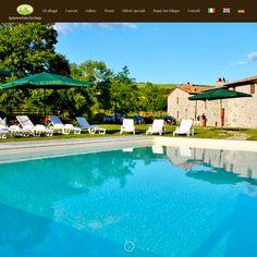 Restyling completo per il sito web dell'agriturismo Podere San Giorgio. Location di charme nel cuore della Val D'Orcia.  Visita il nuovo sito: www.poderesangiorgio.net