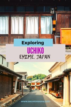 Looking to explore another side of Japan? The small town of Uchiko located in Ehime (Shikoku Island) is perfect for you. #ehime #Japan #travel #shikoku #offthebeaten track