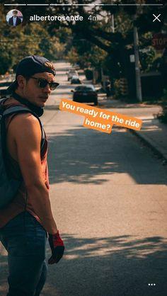 dom on alberto's instagram story 20/09/17