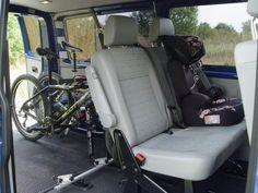 Půjčovna karavanů, dodávka VW Transporter s autostanem