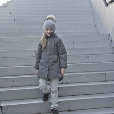 Olga girls wintercoat from MarMar Copenhagen.