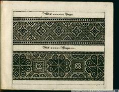 Book of charted needlework designs. Siebmacher, Johann 1597