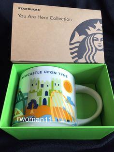 Starbucks Newcastle YAH Mug England You Are Here Football UK Gateshead Tyne Cup in Collectables, Kitchenalia, Mugs | eBay!