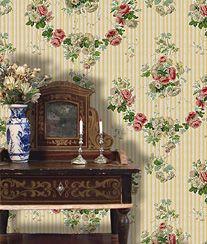 mini P-PARISIEN - Les Chinoiseries 1:12 Print Fabrics & wallpapers