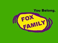 Fox Family you belong logo by PikachuxAsh