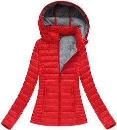 Dámska prechodná bunda červená XB7115X Winter Jackets, Fashion, Winter Coats, Moda, Winter Vest Outfits, Fashion Styles, Fashion Illustrations