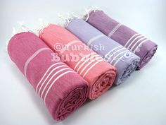 FREE Shipment Set of 4 Turkish Towels BEACH by turkishbubbles, $88.00