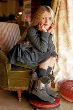 ❤️ fashion kids ALALOSHA: VOGUE ENFANTS: Blumarine Bambina FW2013/2014