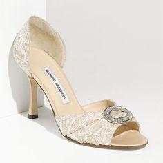 Sedaraby @ManoloBlahnik #weddingshoes