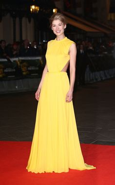 Rosamund Pike is red-carpet ready