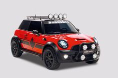 Canadian designers DSquared2 got their hands on a MINI Countryman to create their custom charity model for Life Ball 2011.