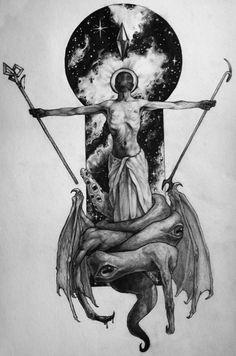 call of cthulhu drawing - Ecosia Arte Horror, Horror Art, Dark Fantasy, Fantasy Art, Dibujos Dark, Lovecraft Cthulhu, Hp Lovecraft, Lovecraftian Horror, Satanic Art