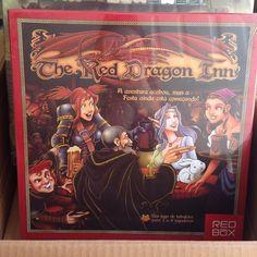 Red Dragon Inn chegou na #DeliDaPersy #redboxeditora #olddragon #boardgame
