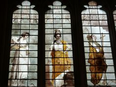 Joshua Reynolds stained glass, New College Chapel, Oxford.