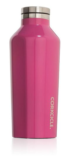 The Corkcicle Canteen is a sturdy, stainless steel alternative to traditional water bottles.