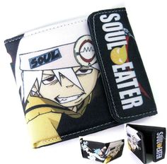 Soul Eater Wallet. Omg I have an AoT one like this but I need this now