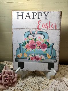 Your place to buy and sell all things handmade Bunny Painting, Painting On Wood, Easter Paintings, Bee Creative, Paint And Sip, Diy Easter Decorations, Hoppy Easter, Vintage Easter, Spring Crafts