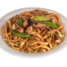 Stir Fry Miso Udon w/Chicken Stir fried udon noodles and vegetables make the best meal when you don't have a lot of time. This version is t...