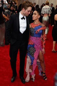 Robert Pattinson And FKA Twigs Have The Look Of Love At The Met Gala