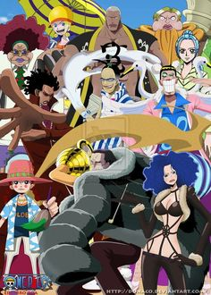 ONE PIECE, Crocodile & Officer Agent of Baroque Works by donaco on deviantART
