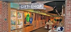 aquarium gift shops on