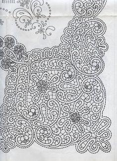 Disegni Cantù da riviste varie (Bolillos) Irish Crochet, Crochet Lace, Romanian Lace, Bobbin Lace Patterns, Lacemaking, Point Lace, Needle Lace, Cutwork, Renaissance