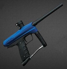 50 Cal GOG eNMEy Razor Blue Paintball Gun