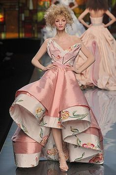 #29 in the 50 Shades of Pink countdown is this confection of a gown for Dior by John Galliano. You can pre-order NO WAY TO KILL A LADY from any bookstore. It will be ready for you in.......29 days!