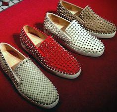 Christian Louboutin Men's Shoes - Imagine if someone's shirt said kick me.... >;) L0l.