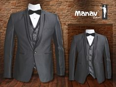 Designed for prestige. Self Printed Suit with Jaccord Printed Jacket and Tuxedo Shirt.#Suit #SuitUp #Tuxedo #IndianWear #Fashion #MensFashion #MensWear #ManavEthnic #PocketSquare #Dapper #ModernStyle #SuitAndStyle #Classic #Gentlemen #SmartLook  www.manavethnic.com
