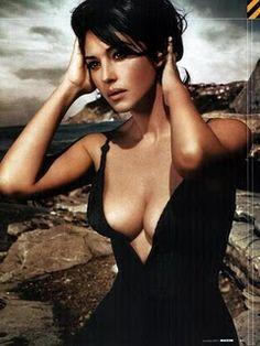 Monica Bellucci. Stunning- Angelina, who?