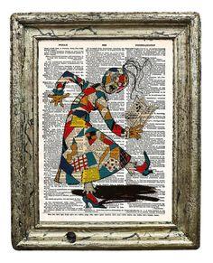 The Patchwork Girl Original Artwork from L Frank by AvantPrint, $7.00