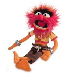 If you want to hug an animal, hug the original. ANIMAL PLUSH SOFT TOY DOLL #Disney #Muppets
