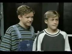 Ryan Gosling and Justin Timberlake as youngsters in Mickey Mouse club. Dawww!!!