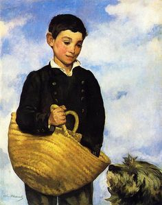 Édouard Manet - Tiermalerei - Tiere in der Kunst Pierre Auguste Renoir, Edouard Manet, Camille Pissarro, Edgar Degas, Paul Cezanne, Impressionist Art, Claude Monet, Art History, Modern Art