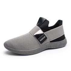 Men Mesh Knit Slip On Casual Soft Sole Athletic Shoes - Banggood Mobile