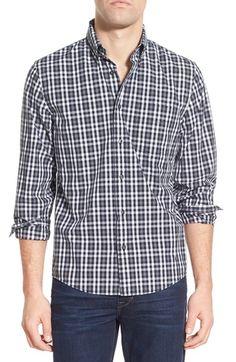 Jack Spade 'Palmer - Check' Trim Fit Sport Shirt
