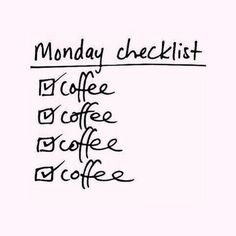 Coffee all day! Happy Monday! #YorkdaleStyle