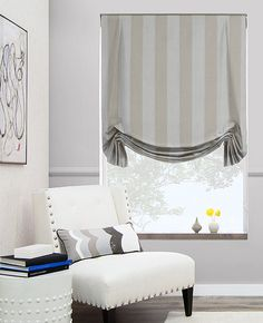 Handcrafted with inverted pleats at the top and swag with small winged offshoots at the bottom. Tulip roman shades are uniquely designed & expertly crafted in our US workrooms. Tulip Roman Shades can be further customized with complimentary lining options. View our Roman collection online.