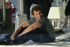 Jon Bon Jovi - Filming a movie, perhaps??