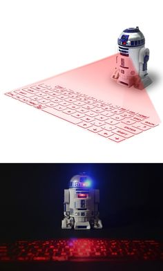 R2-D2 Virtual Keyboard | #StarWars #R2D2