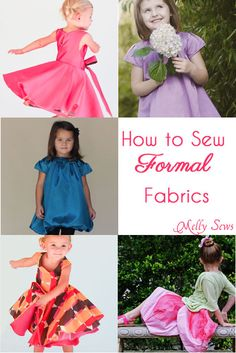 How to Sew Silk, Satin, Taffeta and other Fancy Fabrics - Melly Sews #sew #tips #howto