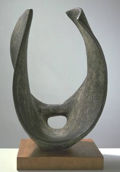 Trevalgan, Barbara Hepworth, 1956I work with these shapes. I like this piece's  torsion.