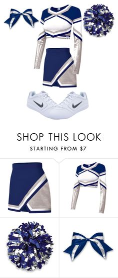 """Cheer Uniform #3"" by thisisvintage ❤ liked on Polyvore featuring Chassè and NIKE"