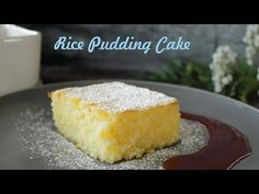 Hungarian Rice Pudding Cake (Rizskoch) is a simple but delicious dessert, based on a rice pudding, but adding egg yolks and beaten egg whites to it, it becom. Rice Desserts, Jelly Desserts, Dessert Cake Recipes, Cookie Desserts, Delicious Desserts, Hungarian Desserts, Hungarian Recipes, Koulourakia Recipe, Rice Pudding Recipes