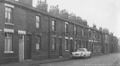 PH/17/3/87 Black and white photograph showing Johnson Street, St.Helens.  . . c.1960s. . . . PH - Photographic collections 17 - Photographic collections that were created by individual depositors 3 - Black and white photographs showing various streets in St.Helens