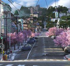Big Hero 6. I love the cherry blossoms!