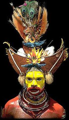 Huli Wigman, Papua New Guinea פפואה גינאה החדשה www.papua-by-raz.co.il/papua